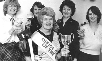 emily cleaner of the year and staff 1970's bw (resize).jpg
